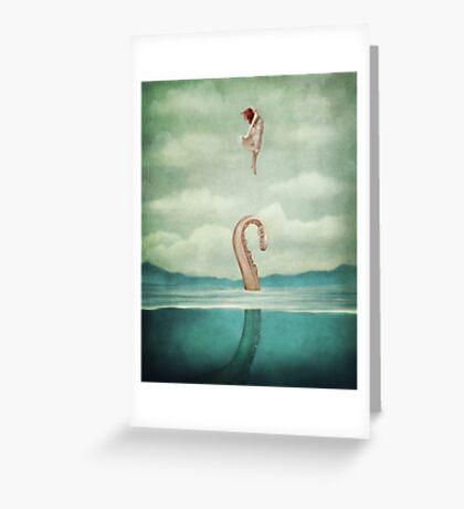 uncontained Greeting Card