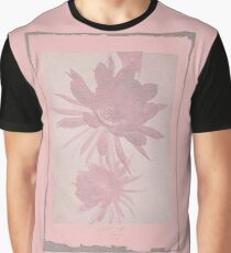 12th Doctor Negative Flower T-Shirt Graphic T-Shirt