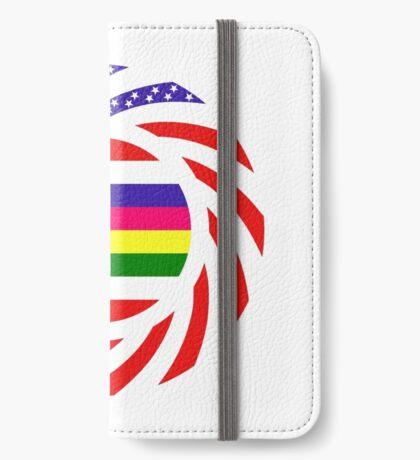 Korean American Multinational Patriot Flag Series 2.0 iPhone Wallet
