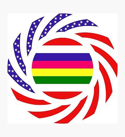 Korean American Multinational Patriot Flag Series 2.0 Photographic Print