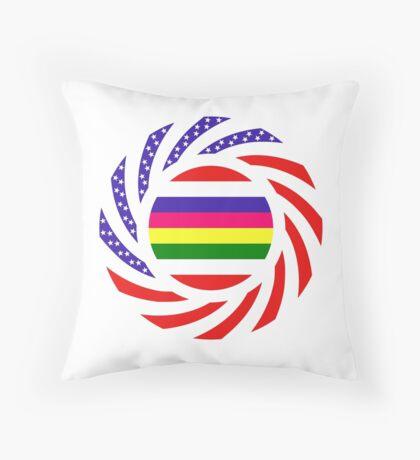 Korean American Multinational Patriot Flag Series 2.0 Throw Pillow