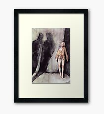 In the Aftermath Framed Print