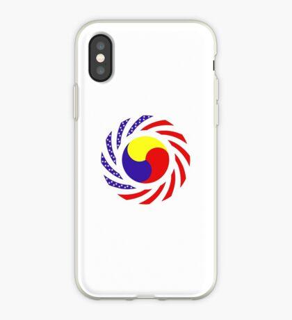 Korean American Multinational Patriot Flag Series 3.0 iPhone Case