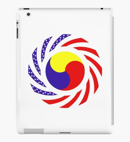 Korean American Multinational Patriot Flag Series 3.0 iPad Case/Skin