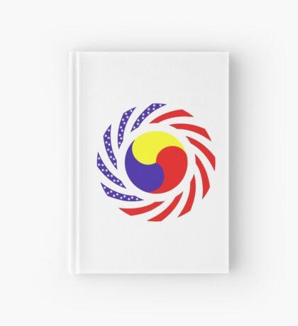 Korean American Multinational Patriot Flag Series 3.0 Hardcover Journal
