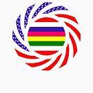 Korean American Multinational Patriot Flag Series 2.0 by Carbon-Fibre Media