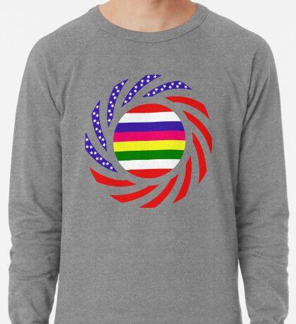 Korean American Multinational Patriot Flag Series 2.0 Lightweight Sweatshirt