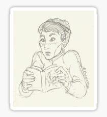 Light Reading Sticker