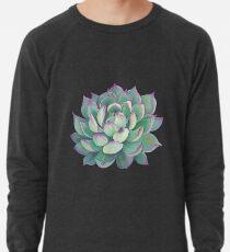 Sukkulente Pflanze Leichtes Sweatshirt