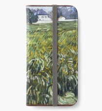 Vincent Van Gogh - House at Auvers, 1890 iPhone Wallet/Case/Skin