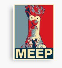 Beaker Meep Poster Canvas Print