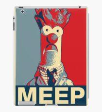 Beaker Meep Poster iPad Case/Skin