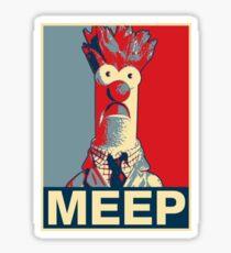 Beaker Meep Poster Sticker