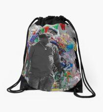 Street Vendor Drawstring Bag