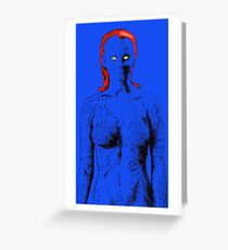 Return Of The Shapeshifter Greeting Card