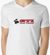 rabbit GTI Men's V-Neck T-Shirt