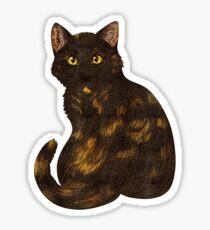 Tortie Cat Sticker