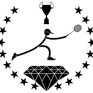 Badminton logo design by lovingangela