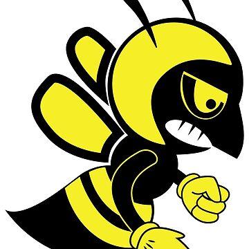 Fighting bee by lovingangela