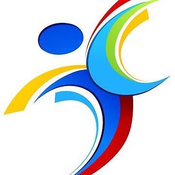 Sport logo design by lovingangela