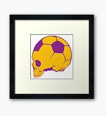 Sport death Framed Print