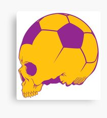 Sport death Canvas Print