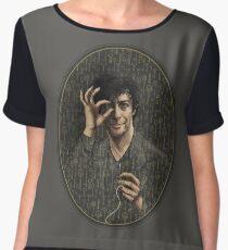 Neil Gaiman Women's Chiffon Top
