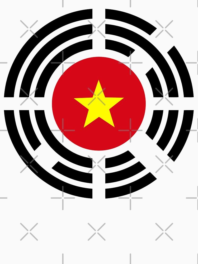 Korean Vietnamese Multinational Patriot Flag Series by carbonfibreme