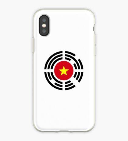 Korean Vietnamese Multinational Patriot Flag Series iPhone Case