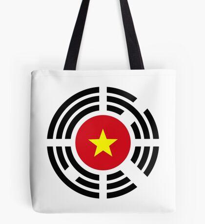 Korean Vietnamese Multinational Patriot Flag Series Tote Bag
