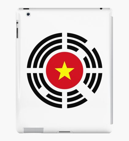 Korean Vietnamese Multinational Patriot Flag Series iPad Case/Skin