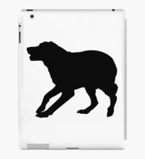 english springer spaniel dog silhouette ipad caseskin