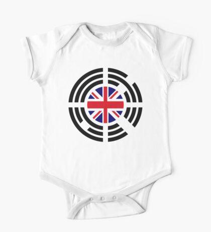 Korean Brit Multinational Patriot Flag Series Kids Clothes
