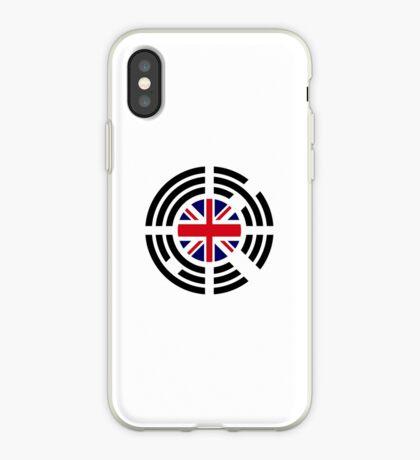 Korean Brit Multinational Patriot Flag Series iPhone Case