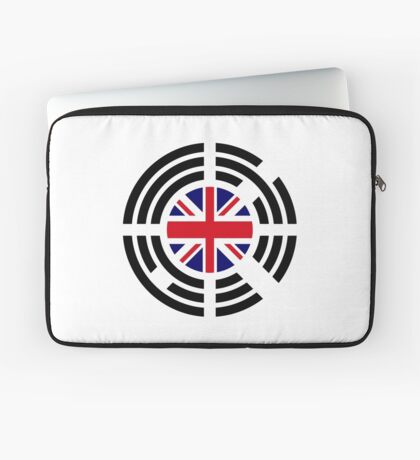 Korean Brit Multinational Patriot Flag Series Laptop Sleeve