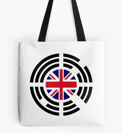 Korean Brit Multinational Patriot Flag Series Tote Bag