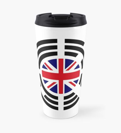 Korean Brit Multinational Patriot Flag Series Travel Mug