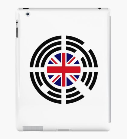 Korean Brit Multinational Patriot Flag Series iPad Case/Skin