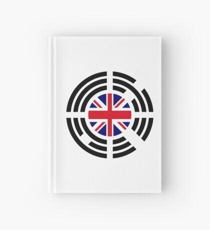 Korean Brit Multinational Patriot Flag Series Hardcover Journal