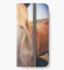 The Nosey Horse iPhone Wallet/Case/Skin