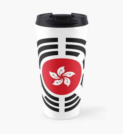 Korean Hong Kong Multinational Patriot Flag Series Travel Mug