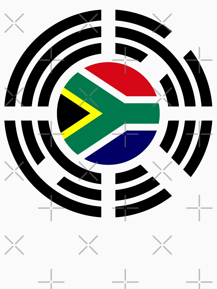 Korean South African Multinational Patriot Flag Series by carbonfibreme
