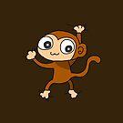 Climbing Monkey by zachsymartsy