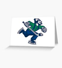 Ice hockey go canucks Greeting Card