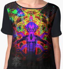 Cosmic Tentacle Screamer Chiffon Top