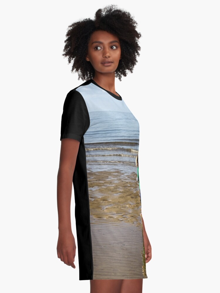 Alternate view of Shore run Graphic T-Shirt Dress