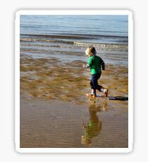 Shore run Sticker