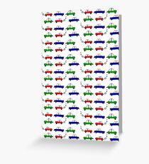 Traffic jam Greeting Card