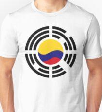 Korean Colombian Multinational Patriot Flag Series T-Shirt