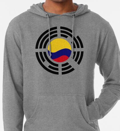 Korean Colombian Multinational Patriot Flag Series Lightweight Hoodie